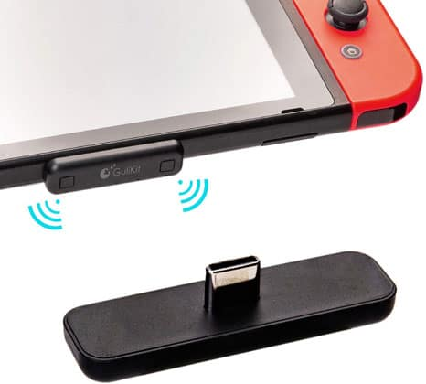 Gulikit Bluetooth Adapter For Nintendo Switch