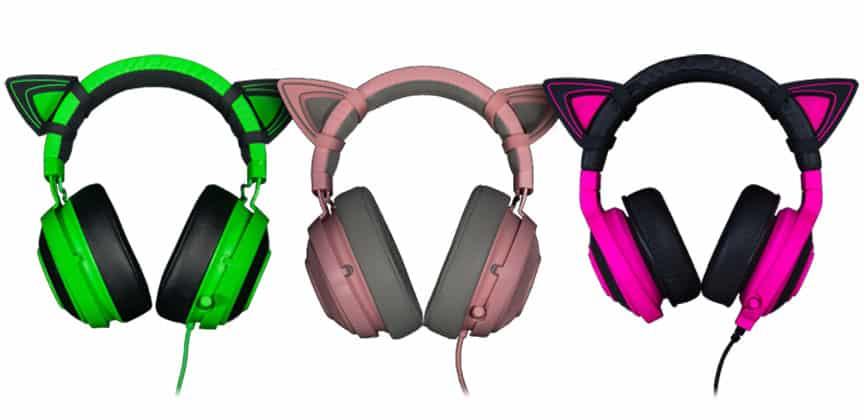 Razer Kraken Pro V2 Kitty Ears