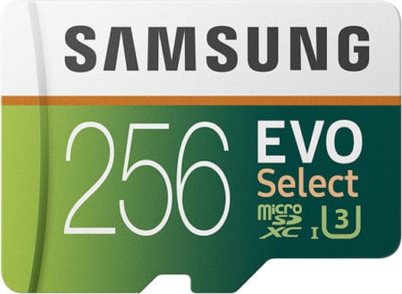 Samsung Evo Select Microsd Card 256gb