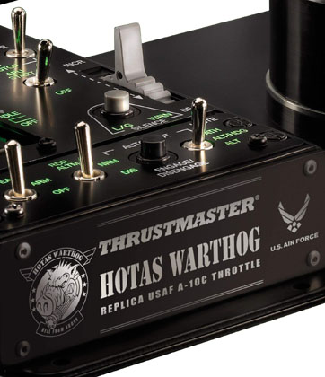 Thrustmaster Hotas Warthog Design