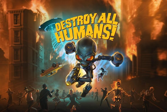 Destroy All Humans Game