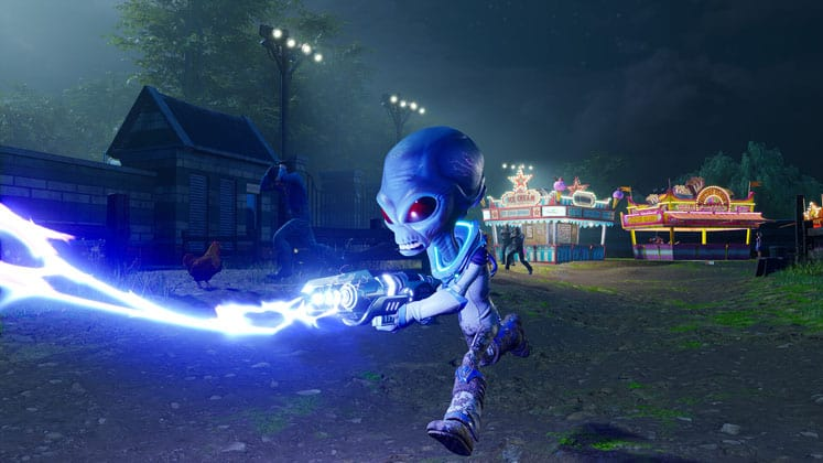 Destroy All Humans Gameplay