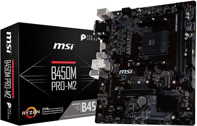 Msi B450m Pro M2