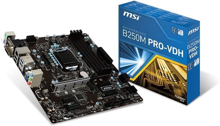 Msi Pro Series B250 Pro Vdh