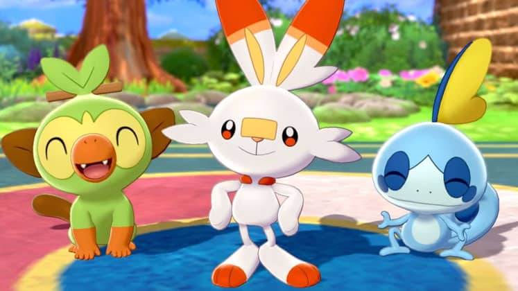 Pokémon Sword And Shield Starter