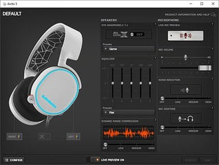 Steelseries Arctis 5 Software