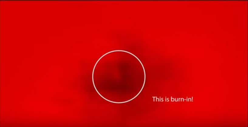 What Is Oled Burn In