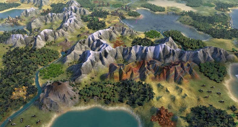 Bring Back Civ V's Visuals