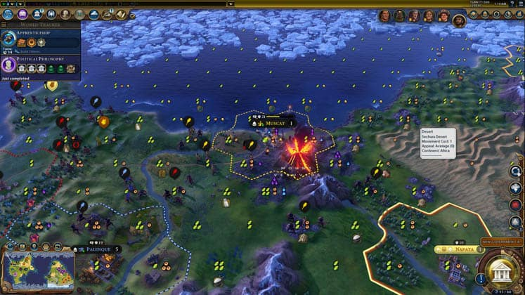 Civilization 6 Increased Natural Disaster Intensity