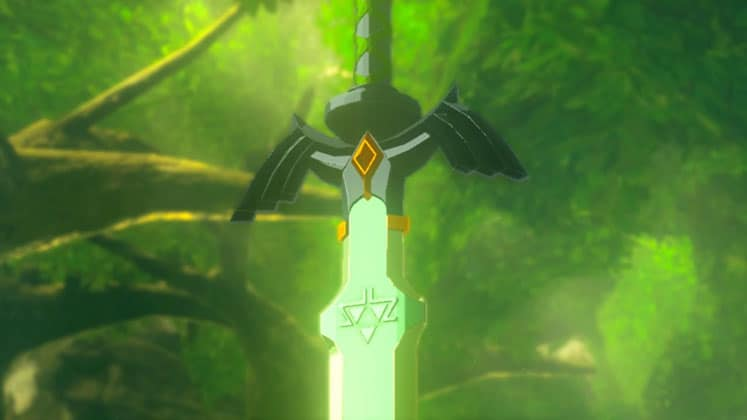 Master Sword – The Legend of Zelda