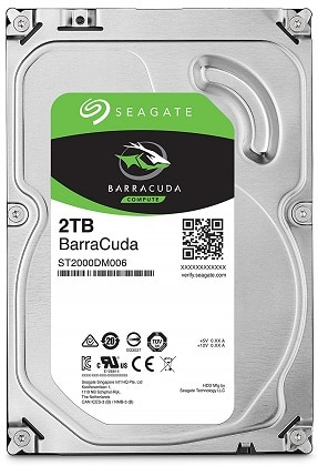 Seagate Portable 2TB External Hard Drive