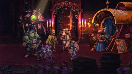 SteamWorld Quest Hand of Gilgamech