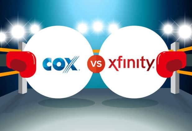 Xfinity and Cox