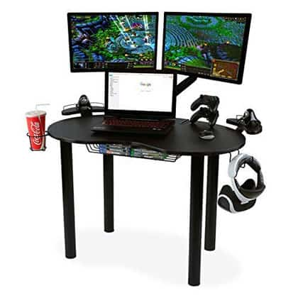 Atlantic Gaming Eclipse Original Gaming Desk Features