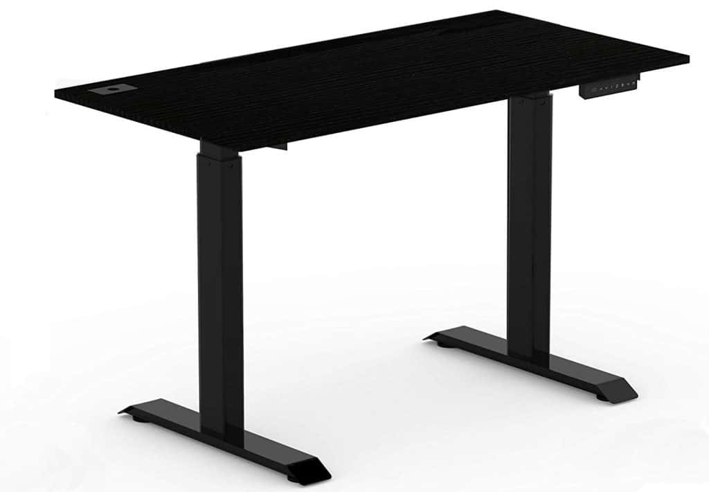 SHW Electric Adjustable Computer Desk Design