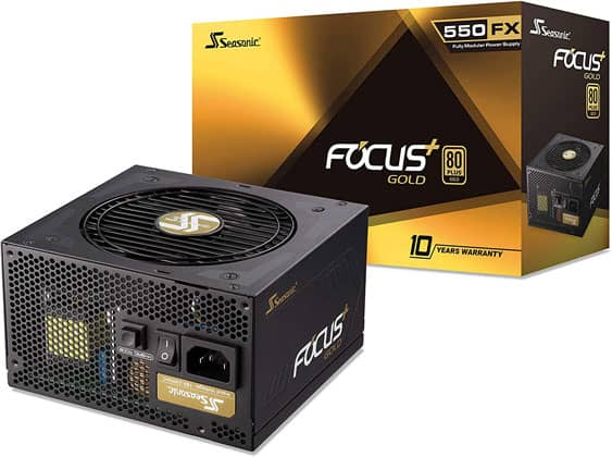 Seasonic Focus+ Gold 550