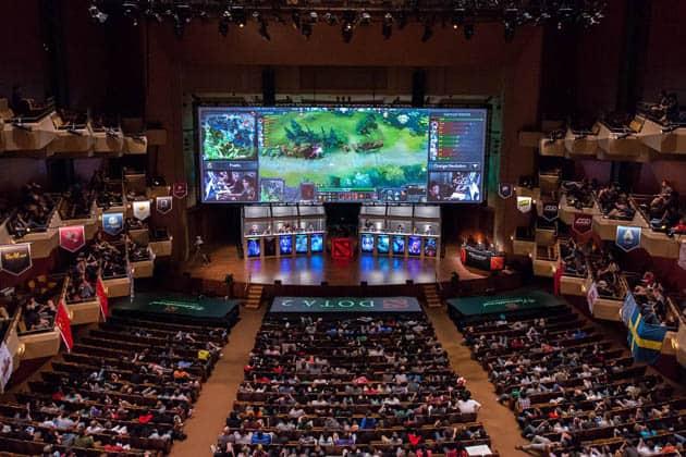 Video Game Tournament Dota 2