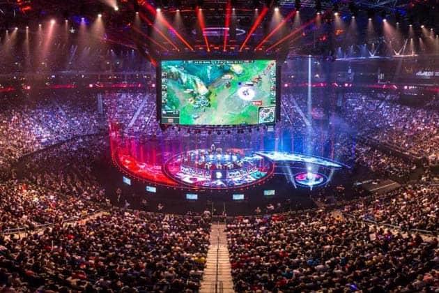 Video Game Tournament LoL World Championship