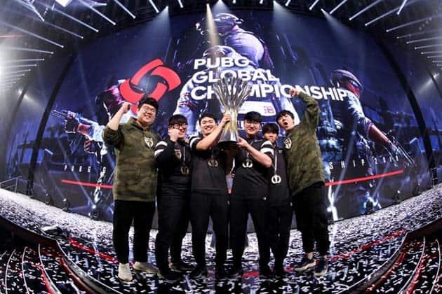 Video Game Tournament PUBG Global Championship