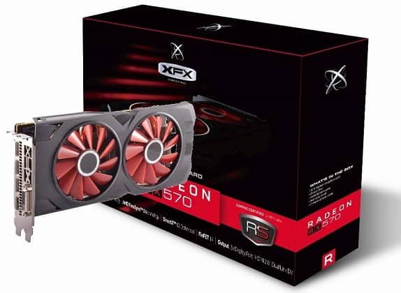 XFX Radeon RX 570 RS XXX Edition
