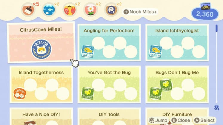 Animal Crossing Tools Nook Miles