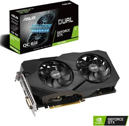 Asus GeForce GTX 1660 Super Dual EVO