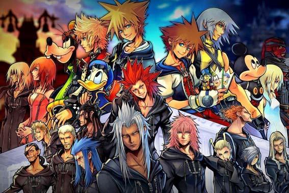 Kingdom Hearts Games In Order