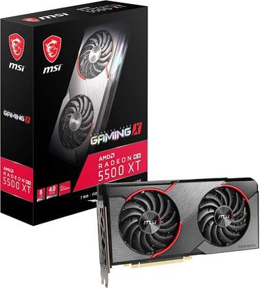 MSI RX 5500 XT Gaming X