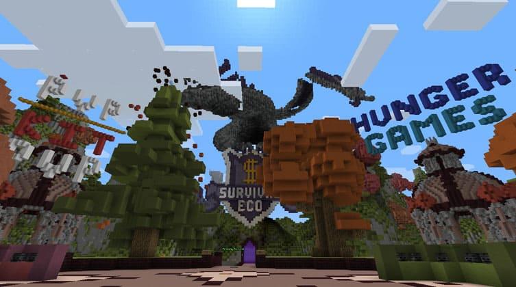 Multiplayer Minecraft Online Server