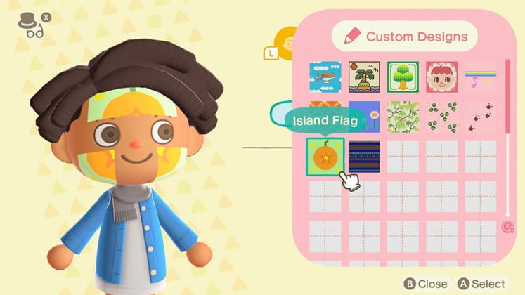 Animal Crossing Face Paint and Gender Setting