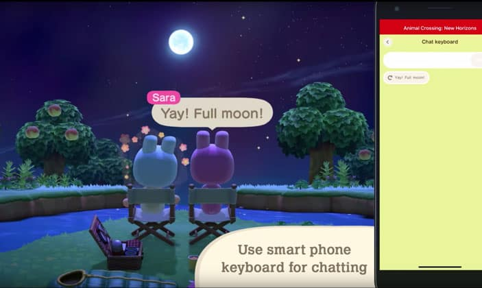 Animal Crossing How to Send Messages and Use Voice Chat