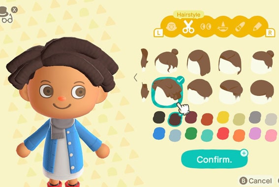 Animal Crossing New Horizons Guide How to Customize Your Character