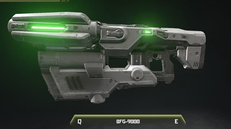 Doom Eternal Weapons Tier List BFG 9000