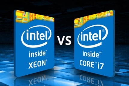 Intel Xeon vs Intel Core