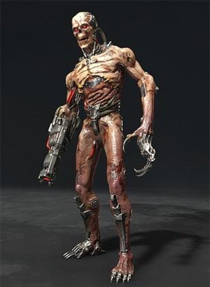 Mecha Zombie