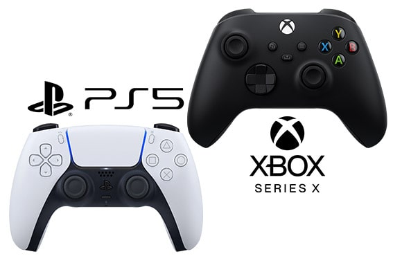 PlayStation 5 DualSense vs Xbox Series X Controller