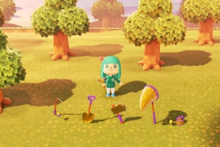 animal crossing new horizons all tools