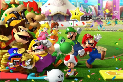 games like mario party