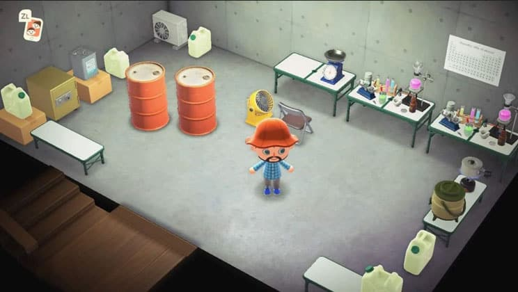 Animal Crossing New Horizons Guide Basement Add On