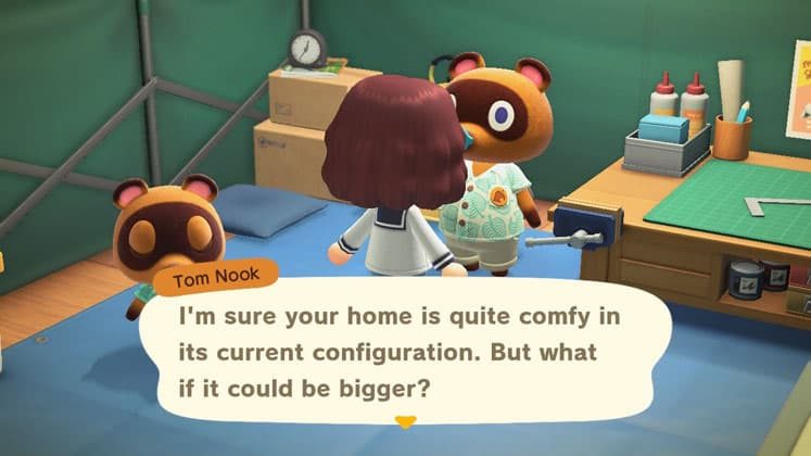 Animal Crossing New Horizons Guide Home Upgrades And Add Ons