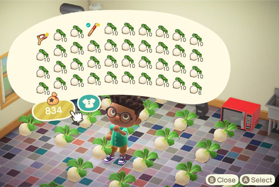 Animal Crossing New Horizons how to buy and sell turnips