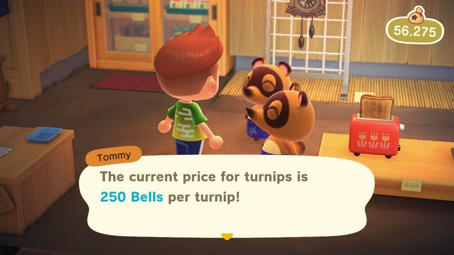 Animal Crossing New Horizons sell turnips