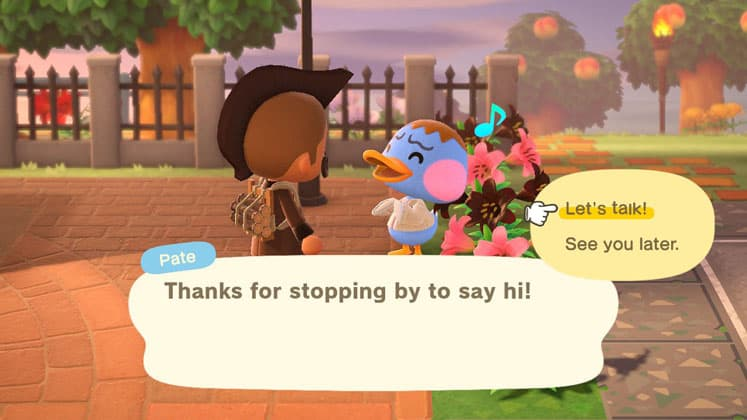 Animal Crossing Talk To Villagers