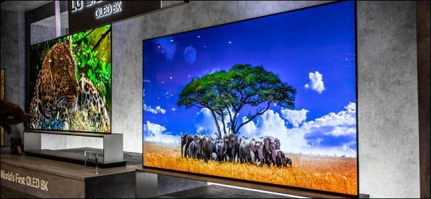 First 8K OLED TV