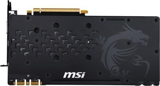 GPU with backplate