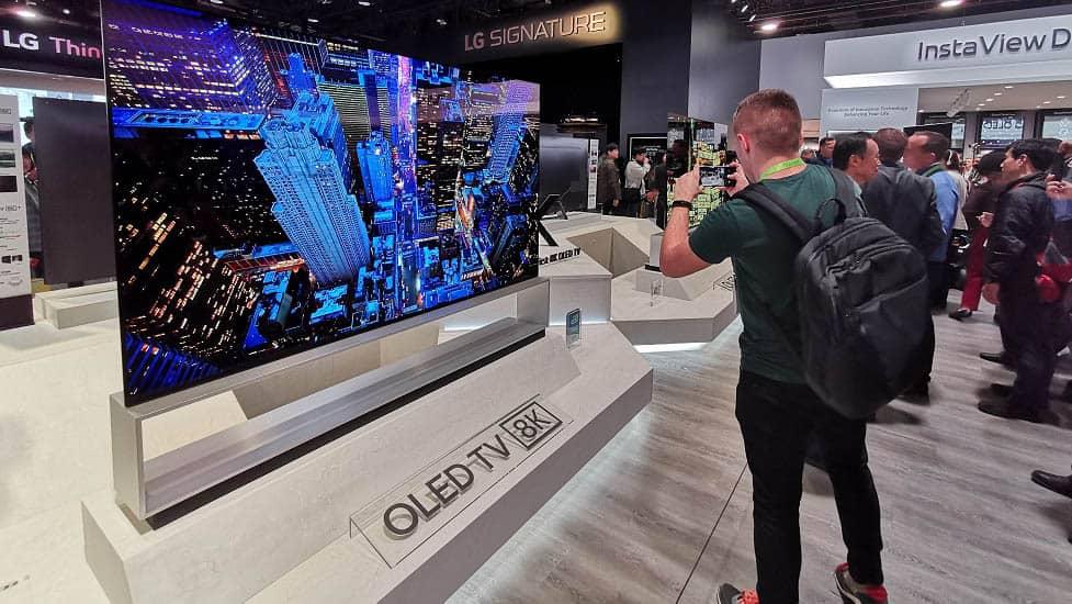 OLED 8K TV