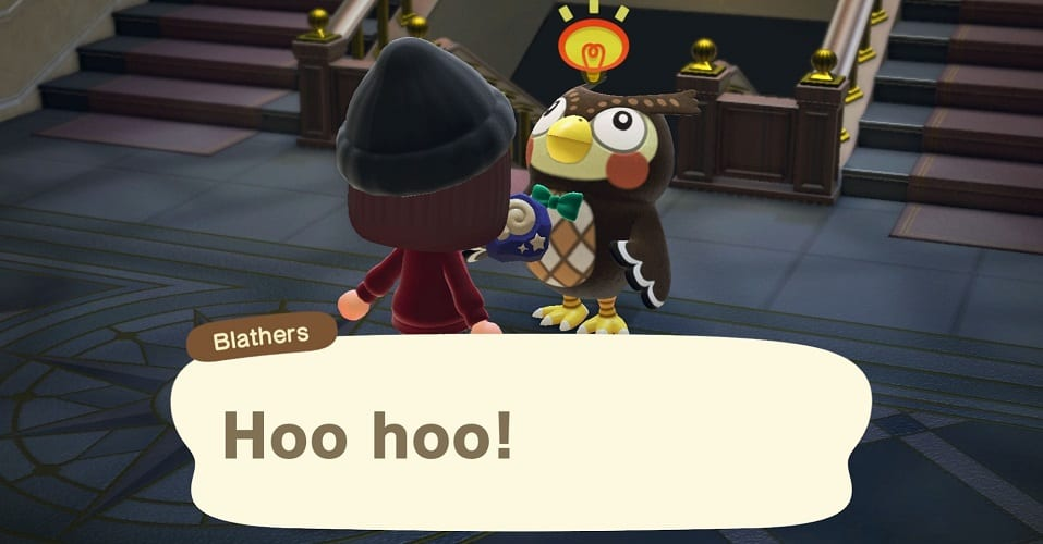animal crossing new horizons blathers