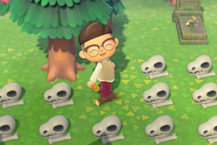 animal crossing new horizons every fossil