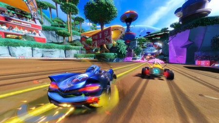 the team sonic racing game