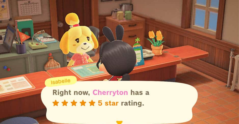 Animal Crossing New Horizons Guide How To Get A 5 star Island Rating